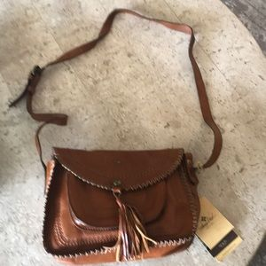 Patricia Nash soft veg tan collection bag